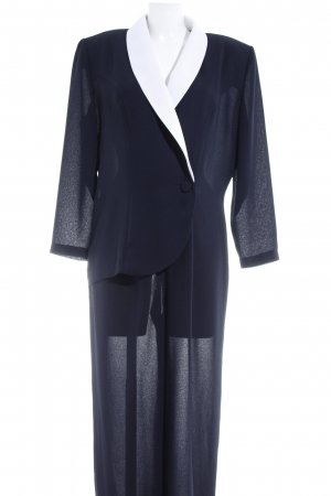 Joseph Ribkoff Jumpsuit wit-donkerblauw 2 in 1-look