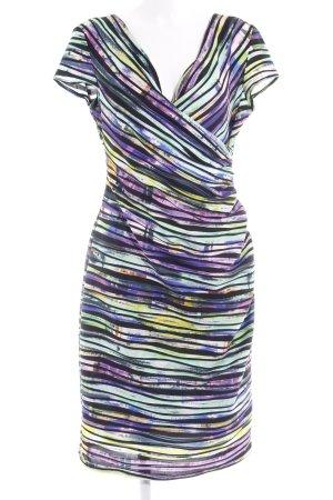 Joseph Ribkoff Stretchkleid abstraktes Muster extravaganter Stil