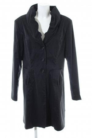 Joseph Ribkoff Trenchcoat schwarz Business-Look