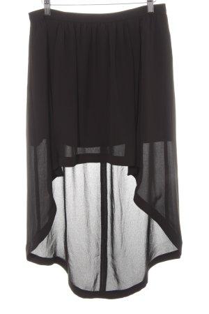 Joseph Ribkoff Tule rok zwart simpele stijl