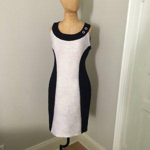 Joseph Ribkoff Vintage Kleid Gr. 40 dunkelblau