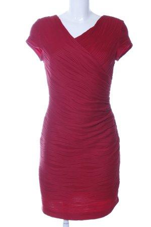 Joseph Stretch jurk rood gestreept patroon elegant