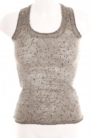 Joseph Knitted Top grey-oatmeal flecked casual look