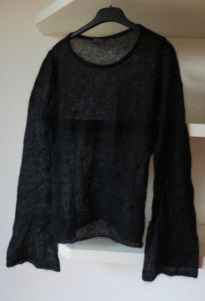 Joseph Tricot (Italy) schwarzer toller extravaganter Pullover Gr S 36 38