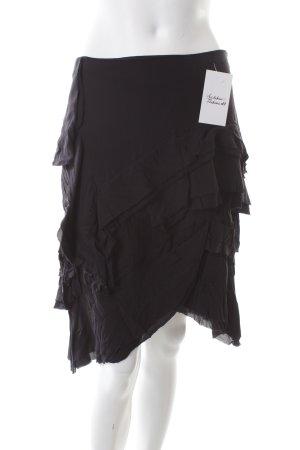 Joseph Flounce Skirt black classic style