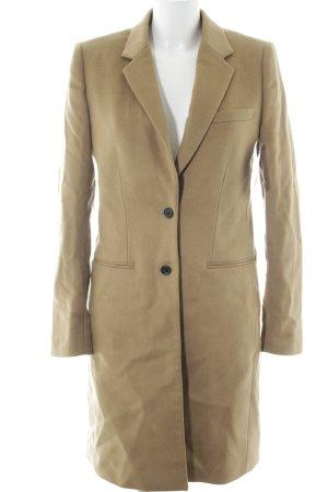 Joseph Manteau en laine brun sable style d'affaires