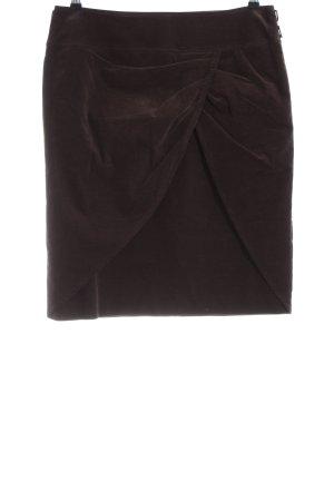 Josephine & Co. Falda de tubo marrón look casual