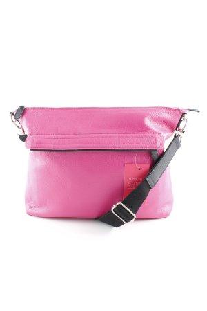 Jost Shopper zwart-roze extravagante stijl