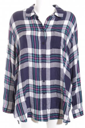 Joules Long-Bluse Karomuster Casual-Look