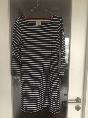 Joules Riviera Dress Kleid in Hope Navy Stripe Blau DE 38 UK 10