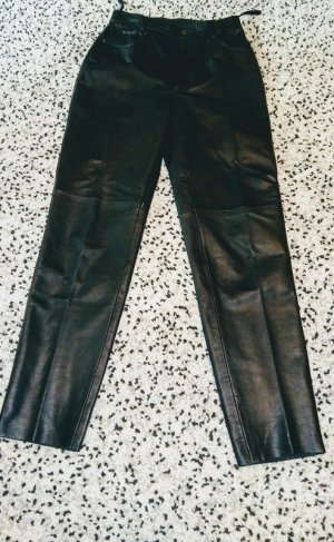 Joy Leather Trousers black leather