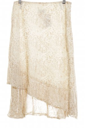 Joy Midirock beige-creme florales Muster Country-Look