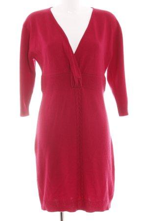 Joyce & Girls Abito di maglia rosso stile casual