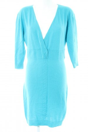 Joyce & Girls Knitted Dress turquoise casual look