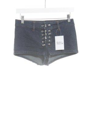 JPG JEAN'S Short donkerblauw Jeans-look