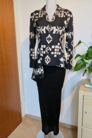 Jupe tricotée noir