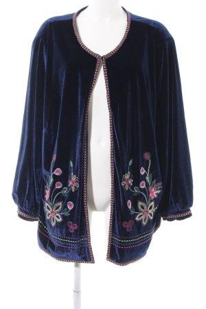Judith Williams Blouson blau Blumenmuster Elegant