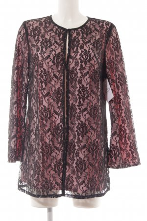 Judith Williams Blusenjacke hellrosa-schwarz Romantik-Look