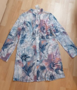 Judith Williams - Blusenkleid - Hemdkleid - hellblau weiß geblümt Gr. 38 - NEU!