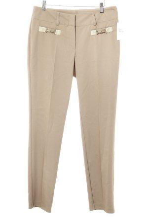 Judith Williams Pantalon à pinces beige élégant