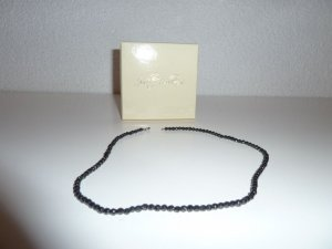 Judith Williams Necklace black real silver