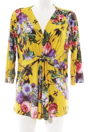 Judith Williams I love Milano Langarmkleid florales Muster klassischer Stil