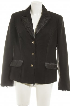 Judith Williams I love Milano Blazer en laine noir style d'affaires