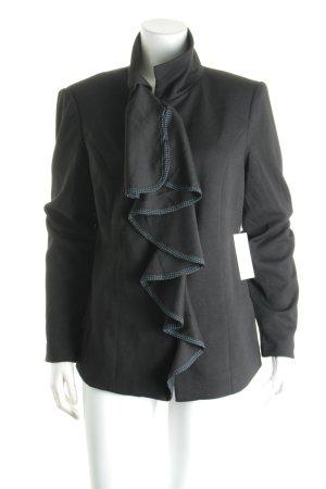 Judith Williams Kurz-Blazer schwarz Street-Fashion-Look