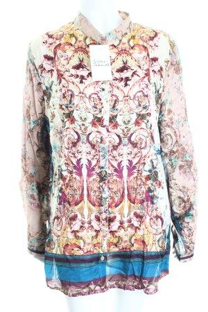 Judith Williams Langarm-Bluse florales Muster