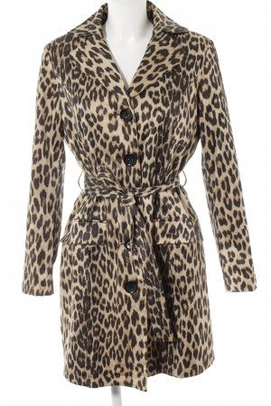 Judith Williams Lange Jacke Leomuster Animal-Look