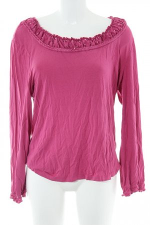 Judith Williams Longsleeve magenta Casual-Look