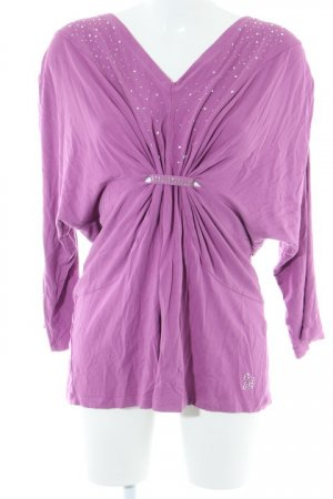 Judith Williams Longsleeve violett Casual-Look