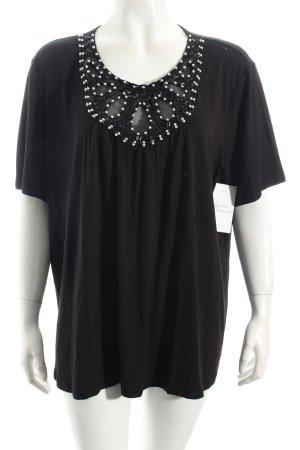 Judith Williams Shirt schwarz Casual-Look