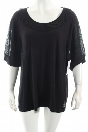 Judith Williams Shirt schwarz Casual-Look
