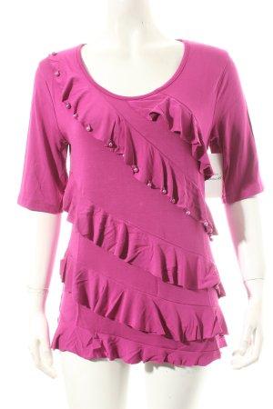 Judith Williams Shirt violett Casual-Look