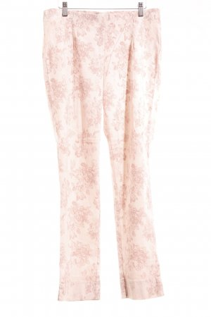 Judith Williams Stretchhose rosé-altrosa florales Muster Casual-Look