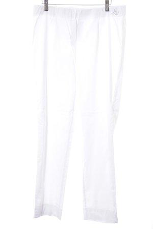 Judith Williams Pantalon strech blanc style décontracté