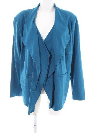 Judith Williams Sweatblazer blau Casual-Look