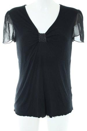 Judith Williams T-Shirt schwarz Casual-Look