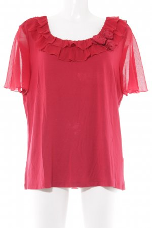 Judith Williams T-Shirt rot Casual-Look