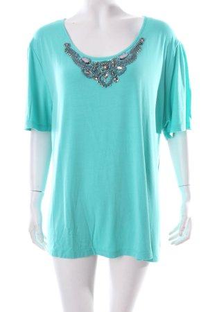 Judith Williams T-Shirt türkis Casual-Look