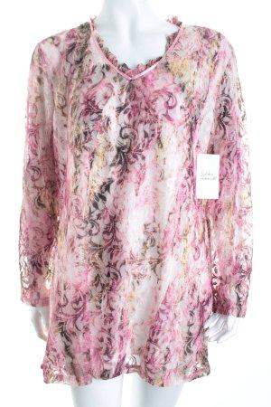 Judith Williams Tunikabluse florales Muster Romantik-Look