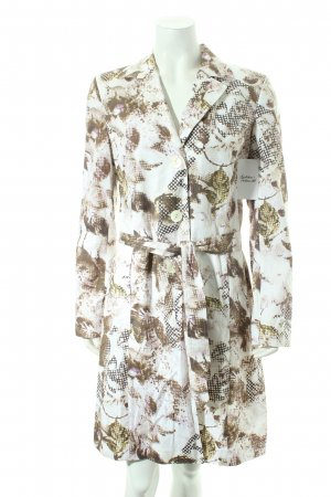 Judy Brown Trench Coat multicolored reptile print