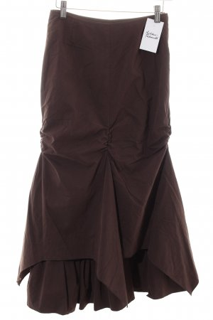 Jürgen Michaelsen Godet Skirt brown elegant