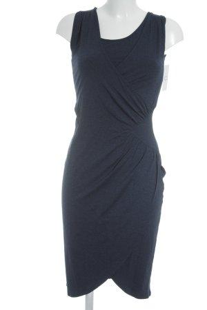 Juffrouw Jansen Bleistiftkleid dunkelblau schlichter Stil
