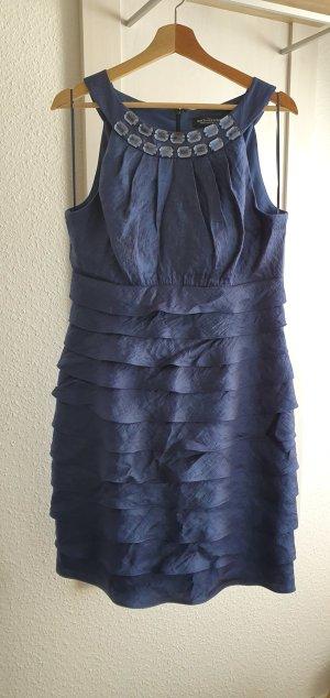 Sixth Sense Cocktail Dress blue polyester