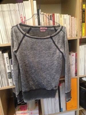 Juicy Couture Acid Wash Pullover in Grau