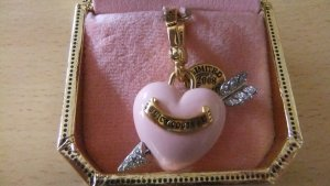 Juicy Couture Anhänger Charm Herz Pfeil Limied Edition USA