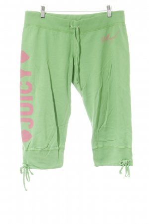 Juicy Couture Baggy Pants grasgrün-pink sportlicher Stil