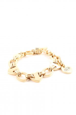 Juicy Couture Bettelarmband goldfarben Business-Look